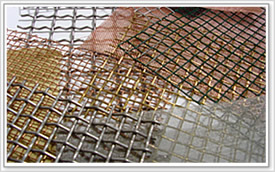 crimped wire mesh panel sheet