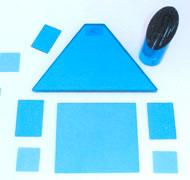 blue filters bule glass exam lamp