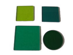 green glass filters