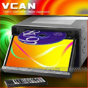 In Dash Dvd Player With 7 Inch Touch Screen Tft Lcd / Dav-7780