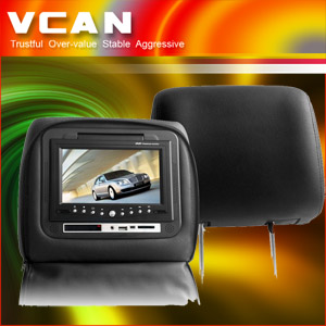 Headrest Car Dvd Player -10.4'' 16 Inch 9 Headrest Tft Lcd Monitor With Usb Sd Mmc