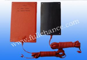 silicone heater pad