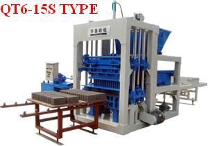 concrete block machine europe africa asia middle east