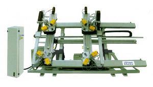 four head corner combining machine