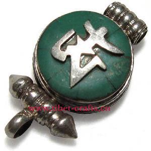 tibetan om amulet