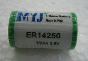 er14250 er14250m 3 6v li socl2 battery