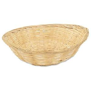 bamboo weave bread fruit basket chemical treatment