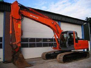 sold hitachi zx210lc excavator 2005