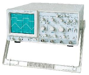 crt readout oscilloscope