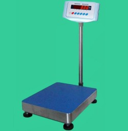 tcs floor digital platform scales rs 232 interface stainless steel