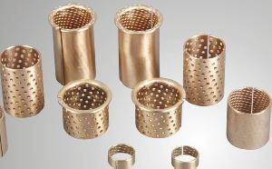 bronze bushing bearing sintered bushes flanged sleeve bushings oilless bush
