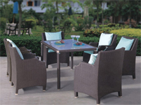 terrace furniture chair table