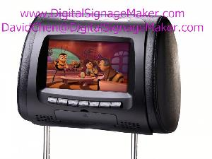 car taxi cab lcd screen digital advertising player