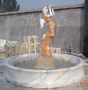 marble fountain stone