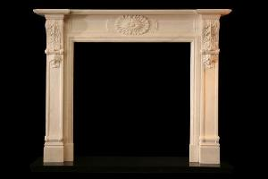 marble fireplace 150 110 30