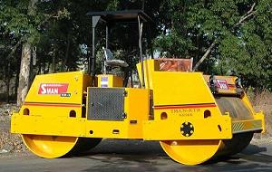 vibratory road rollers india