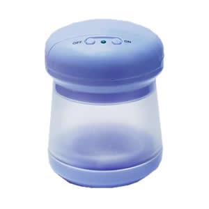 intelligent baby bottle nipple sterilizer blue