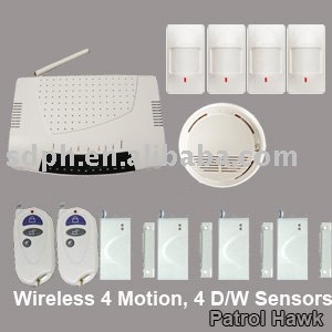 burglar wireless security alarm system home solution package