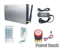 gsm alarm system security project