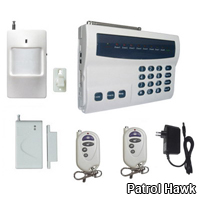 wireless wired landline auto dialer home security