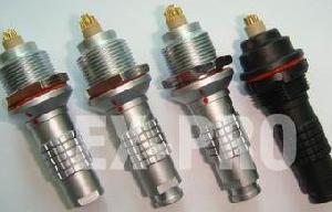 waterproof ip68 connector underwater submarine plug socket 7pin 8pin ex pro