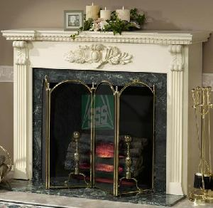 fireplace granite marble fireplaces
