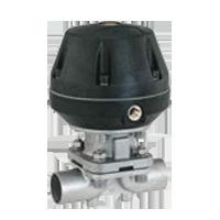 sanitary pneumatic diaphragm valve