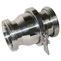 sanitary stainless steel threaded check valve 20101