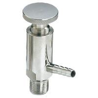 stainless steel threaded sample valve