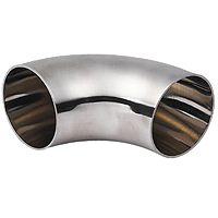 stianless steel pipe fitting sanitary elbow stainless welded