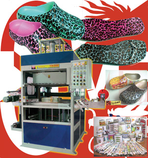3d sublimation machine slippers sandal garden shoes