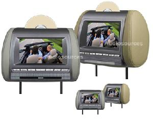 8 5 headrest dvd player mp4 usb sd mmc fm ir transmitter