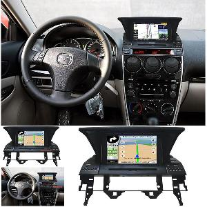 car dvd player mazda 6 built gps system