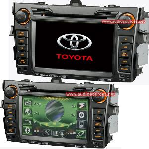 din car audio player system