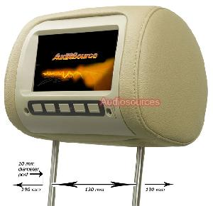 headrest tft lcd monitor