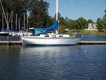 1977 columbia 29 foot sailboat 4821 6700