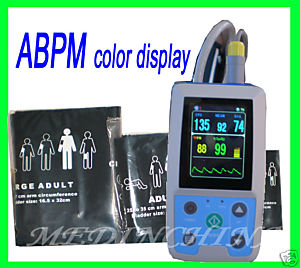 24h ambulatory bp monitor abpm holter patient