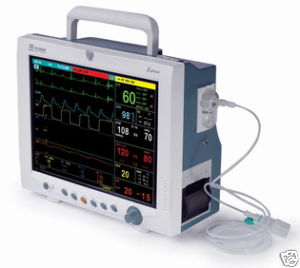 mindray pm 9000express patient monitor etco2