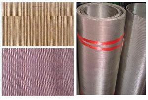woven wire mesh stainless steel copper
