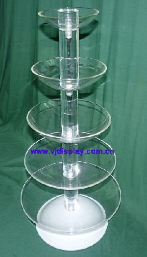 5 tier buffet display tray