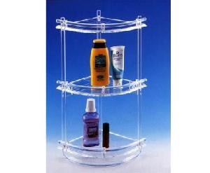 acrylic bathroom shelve rack