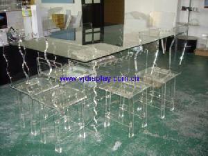 acrylic dinning furniture