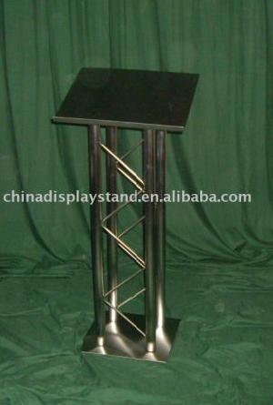 metal podium