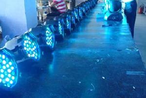 rgba led par light 3w