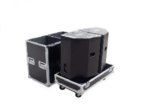 speaker flight cases 2 speakers