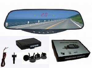 led rear view mirror parking sensor rearview reverse rd 017c4