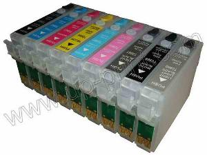 refillable ink cartridge epson r2880 t0961 t0969