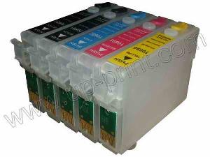 wholesale refillable ink cartridge epson wf1100 workforce 30 310 315 t0691 2 t0694