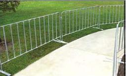 barrier steel pedestrian barricades