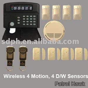 anti burglary alarm system gsm network